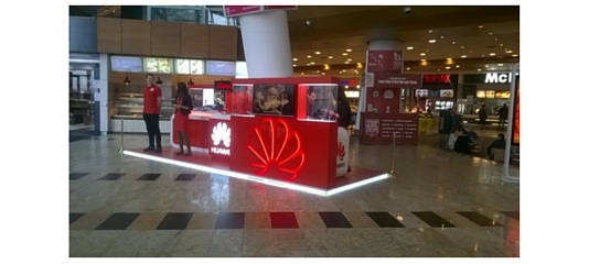 MSPS Romania: Retails development and production for Huawei